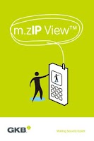 Screenshot of m.ZIP View