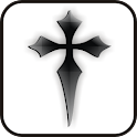 Black Cross doo-dad icon