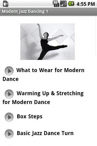 Modern Jazz Dancing 1