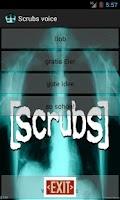 Screenshot of Scrubs Sprüche free