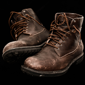 Boots Made for Walking by Craig Fraser - Artistic Objects Clothing & Accessories