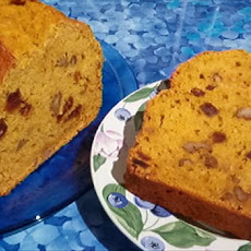 Orange Date Pumpkin Bread