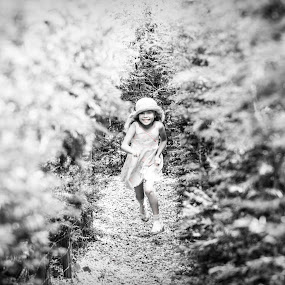 The Maze by Alan Wilson - Novices Only Portraits & People ( black and white, b&w, child, portrait )