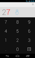 Screenshot of Swipe Calculator FREE