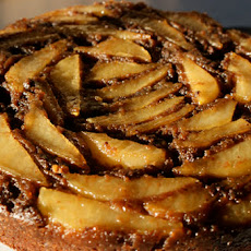 Chocolate Pear Upsidedown Cake