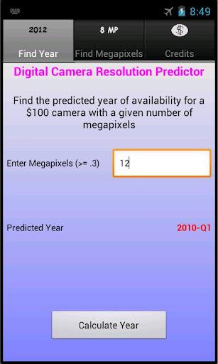 Camera Resolution Predictor