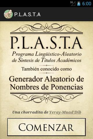 P.L.A.S.T.A