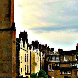 Streets of Bath by Addie Jo Jackman - Instagram & Mobile iPhone ( picturesque, england, warm, travel, architecture )
