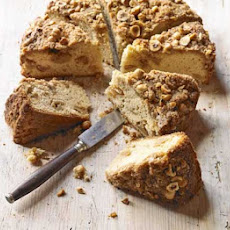 Caramelised Apple Cake With Streusel Topping