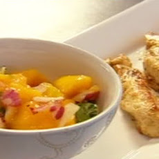 Cajun Chicken Strips With Mango Salsa