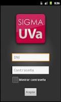 Screenshot of Consulta de Notas UVa