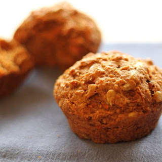 Vegan Carrot Raisin Muffins