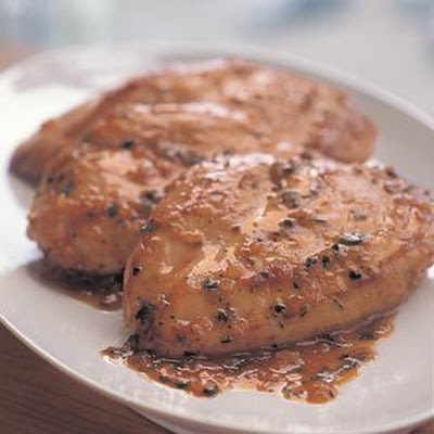 Chicken in Orange-Riesling Sauce