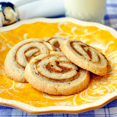 Pumpkin Pie Pinwheel Cookies