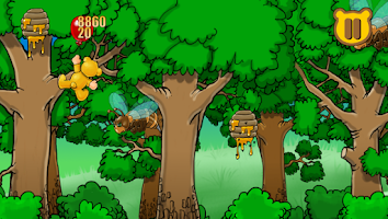 Screenshot of Teddy Honey Hunting
