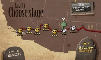 Screenshot of Zombie Rider
