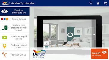 Screenshot of Dulux Visualizer