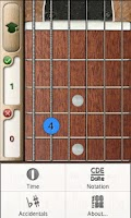 Screenshot of Music Tutor Fret Master Lite
