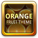 Orange Fruit Theme GO Launcher icon
