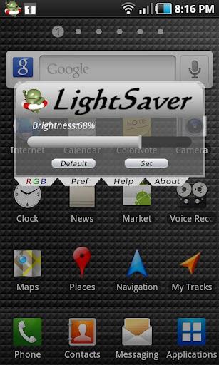 LightSaver Saves Battery Free