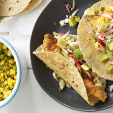 Grilled Fish Tacos With Mango-Cucumber-Mint Salsa Recipe | Yummly