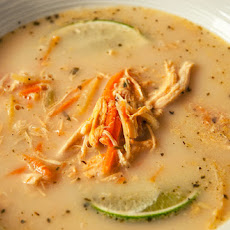 oconut Lime Chicken Soup