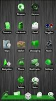 Screenshot of Green ADW Theme