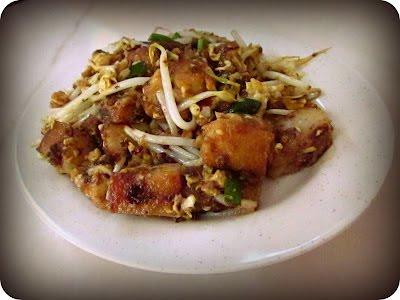 Fried Radish Cake Lo Bak Ko Great Taste Hong Kong Dim Sum