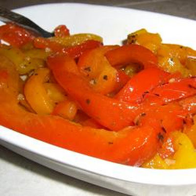 Roasted Peppers in Oil (Peperoni Arrostiti Sotto Olio)