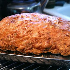 Three Cheese Beer Bread