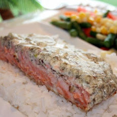 Herbed Salmon Fillets