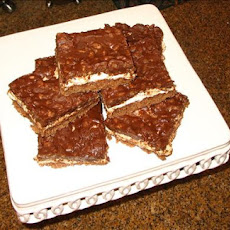 Deluxe Chocolate Marshmallow Bars. Decadent!!!