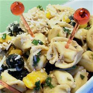 Four Cheese Tortellini Pasta Salad