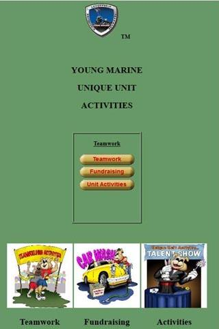 Young Marine Unique Activities