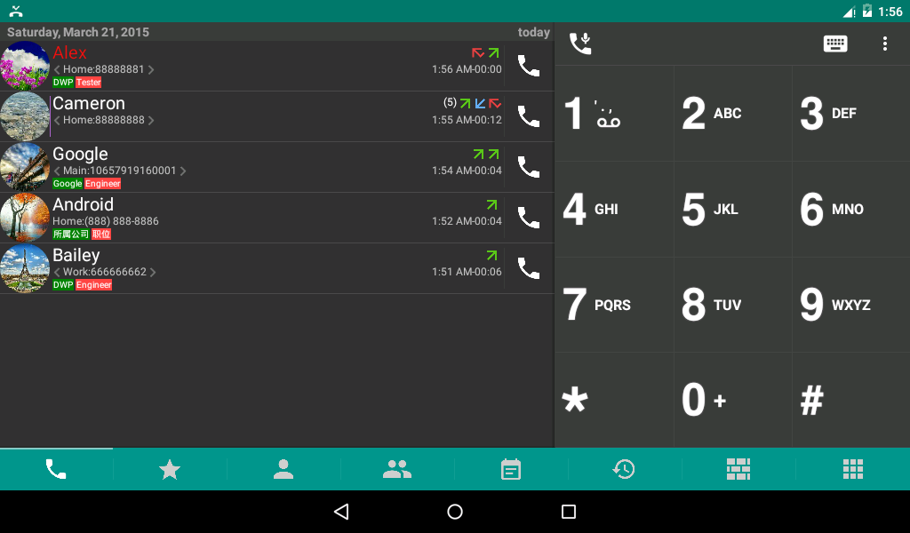 DW Contacts & Phone & Dialer Screenshot 8