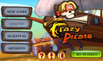 Screenshot of Crazy Pirate