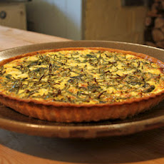 Samphire, Beet Top And Spinach Tart