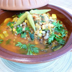 Liberian Black-Eyed Pea Soup