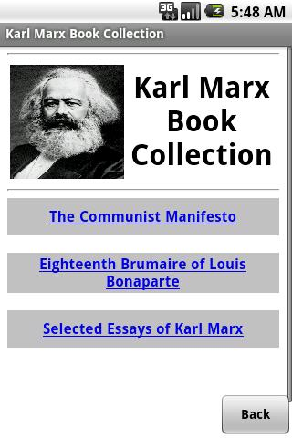 Karl Marx Book Collection