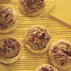 Chocolate and Pecan Tartlets