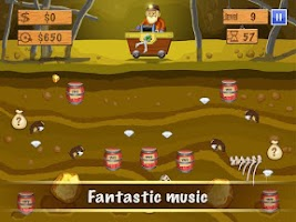 Screenshot of Gold Miner Deluxe
