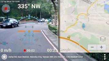 Screenshot of 3D Compass+ (AR, record video)