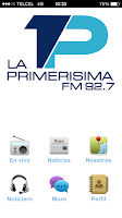 Screenshot of La primerisima 92.7 FM