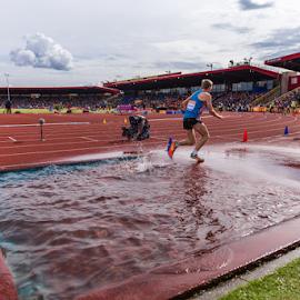 IAAF Diamond League Birmingham - 2014 by Toyin Oshodi - Sports & Fitness Running ( athletics, prix, grand, track, sport, running )