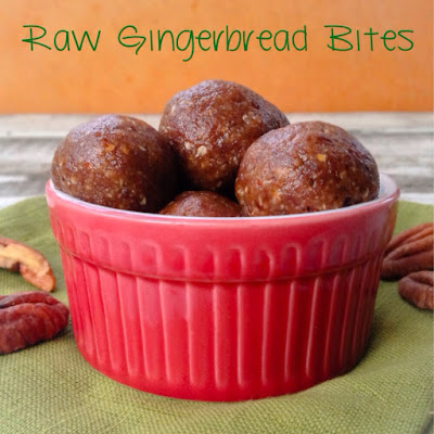 Raw Gingerbread Bites