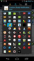 Screenshot of Shady Icon Pack 1