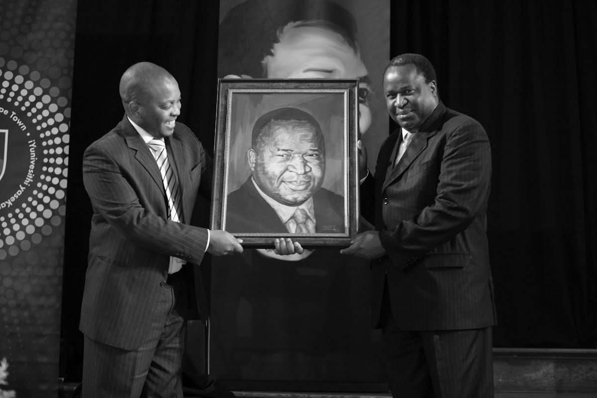 Mr. Nkosinathi Biko, SBF CEO & Reserve Bank Governor Tito Mboweni