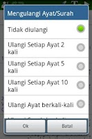 Screenshot of Al Quran (Al-Zikar Indonesian)