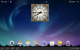 Screenshot of Big Ben Clock Widget