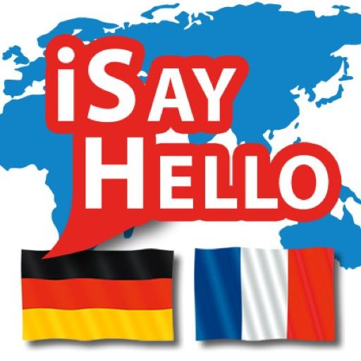 iSayHello 德语 - 法语 旅遊 App LOGO-硬是要APP